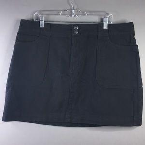 Forever 21 Black Denim Skirt